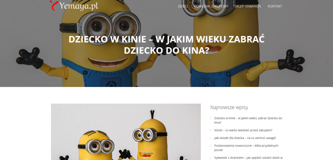 Blog Yemaya